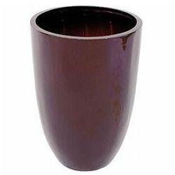 leichtsin cup-49, shiny-brown, doniczka marki Europalms