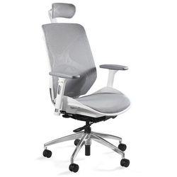 Uq Fotel biurowy ergonomiczny siatkowy hero biały