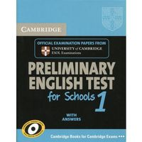 Cambridge PET for Schools 1 Student's Book with Answers (Cambridge University Press)