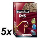 NutriBird P15 Original dla dużych papug, 5 x 1kg, marki Versele - Laga do zakupu w Mall.pl