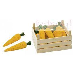 Warzywa w skrzynce, marchewki, 10 elementów. od producenta Goki
