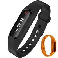 Art Pomarańczowy smband opaska fitness smartwatch z pulsometrem