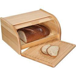 Chlebak z deską do krojenia, drewno bukowe country zassenhaus (zs-065084)