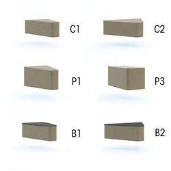 Profim Stół wall in system b1 stolik -łącznik 30 stopni - lw02 -czarny