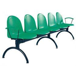 Krzesło AMIGO arm-5 - do poczekalni i sal konferencyjnych, konferencyjne, na nogach, stacjonarne, AMIGO ARM-5