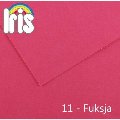 Brystol Canson Iris A3/185g różowy 50ark. (płótno malarskie)