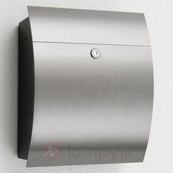 Cmd creativ metalldesign gmbh Skrzynka na listy alani2 z frontem ze stali