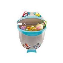 Pojemnik na zabawki do kąpieli Bubble Fish ThermoBaby (szaro-niebieski), Pojemnik na zabawki do kąpieli szaro-ni