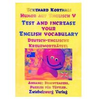 Humor auf Englisch V - Test and Increase your English Vocabulary Korthals, Eckehard