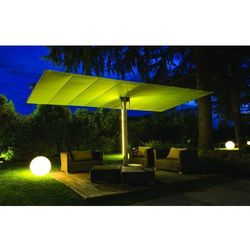 Parasol ogrodowy Flexy Twin 250cm x 523 cm made in Italy