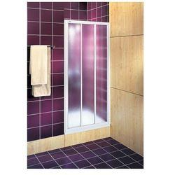 KOŁO drzwi Akord 90 rozsuwane szkło ze wzorem Crepi RDRS90202000 z kategorii Drzwi prysznicowe