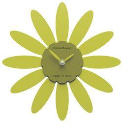 Zegar ścienny Daisy CalleaDesign cedrowo-zielony