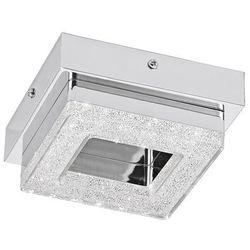 Plafon Eglo Fradelo 95655 lampa sufitowa ścienna 1x4W LED chrom/kryształ >>> RABATUJEMY do 20% KAŻDE zamówienie!!!, 95655
