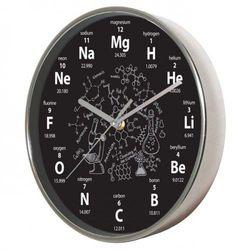 Zegar naścienny chromowany chemia #1