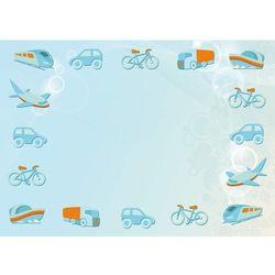Wally - piękno dekoracji Tablica magnetyczna suchoscieralna dla dzieci pojazdy 123