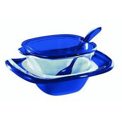 Cukiernica vintage, niebieska - niebieski marki Guzzini
