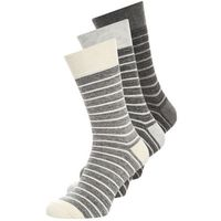 Pier One 3 PACK Skarpety black melange/dark grey melange/light grey melange, PI9_FW16_8-2-F_011