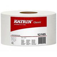 Papier toaletowy gigant s2  classic 130m 2w biały 12 rolek marki Katrin
