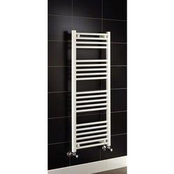 Grzejnik łazienkowy york - wykończenie proste, 500x1200, biały/ral - marki Thomson heating