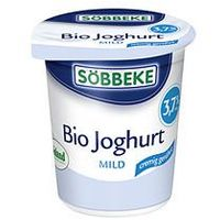 Sobbeke : jogurt naturalny 3,8% bio - 150 g (4008471500186)