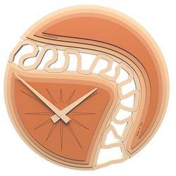 Zegar ścienny Canyon CalleaDesign terakota