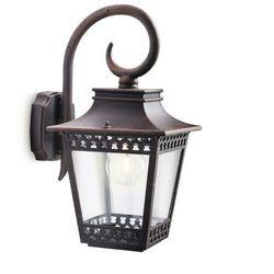 HEDGE - Kinkiet zewnętrzny Rdza Wys.36m - produkt z kategorii- lampy ścienne