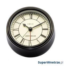 Zegar stojący 11 cm Nextime Amsterdam czarny, kolor Zegar