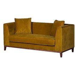 Lily nowoczesna sofa 2 os. - żółty marki Scandinavian style design