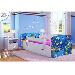 Łóżko dziecięce Kocot-Meble BABYDREAMS RYBKI, Kolory Negocjuj Cenę, Kocot-Meble