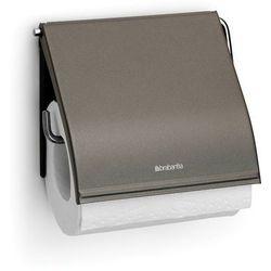 Brabantia - classic matt uchwyt na papier toaletowy