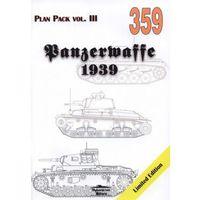PANZERWAFFE 1939 Plan Pack vol.III MILITARIA 359 Grzegorz Jackowski (9788372193599)