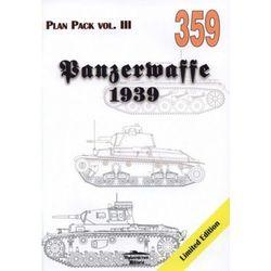 PANZERWAFFE 1939 Plan Pack vol.III MILITARIA 359 Grzegorz Jackowski (ISBN 9788372193599)