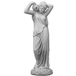 Figura ogrodowa betonowa kobieta z dzbankiem 76cm