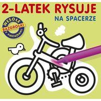 2-latek rysuje Na spacerze (9788377587614)