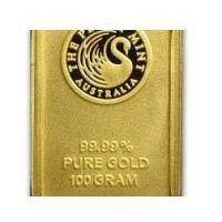 100g sztabka złota mennica Perth Mint - Dostawa Natychmiastowa