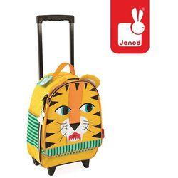 Janod  walizka na kółkach tygrys