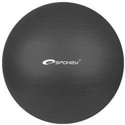 Spokey, Fitball, piłka gimnastyczna, 65 cm, czarna
