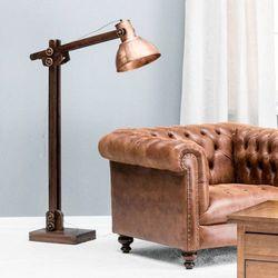 Dekoria Lampa podłogowa Edward wys. 128cm, 29x92x174cm