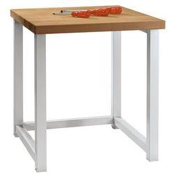 Kompaktowy stół warsztatowy, blat z litego drewna bukowego, szer. 605 mm, bez sz marki Anke werkbänke - anton kessel