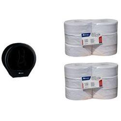 Pojemnik na papier toaletowy Merida ONE za 1 zł netto przy zakupie 2 zgrzewek papieru toaletowego Merida ONE PREMIUM, 605/R