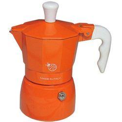 Kawiarka coccinella pomarańczowa - 1 filiżanka marki Top moka