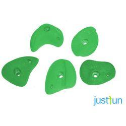 Kamienie do wspinaczki S - jednokolorowe - zielony