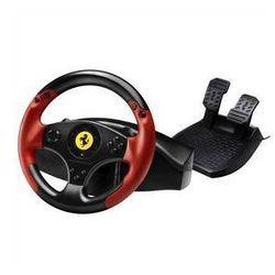 Kierownica Thrustmaster Ferrari Red Legend dla PC/PS3 (4060052) Czarny