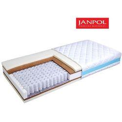 JANPOL EREBU DREAM - materac kieszeniowy, sprężynowy, Rozmiar - 160x190, Pokrowiec - Jersey Standard WYPRZED