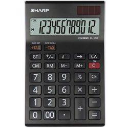 Kalkulator el125twh czarny marki Sharp