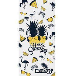 Dr.bacty xl szybkoschnący ręcznik treningowy 70x140 cm / hello summer - hello summer