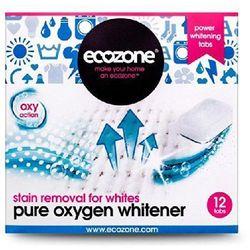 Ecozone, Odplamiacz do białego Pure oxygen, 12 tabletek, produkt marki ecozone - środki czystości