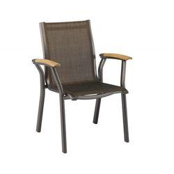 Krzesło ogrodowe sztaplowane Kettler AVANCE antracyt/brąz z kategorii Krzesła ogrodowe