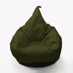 Oskar perek Puf tipi kolor ciemna zieleń