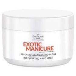exotic manicure regenerująca maska do dłoni od producenta Farmona